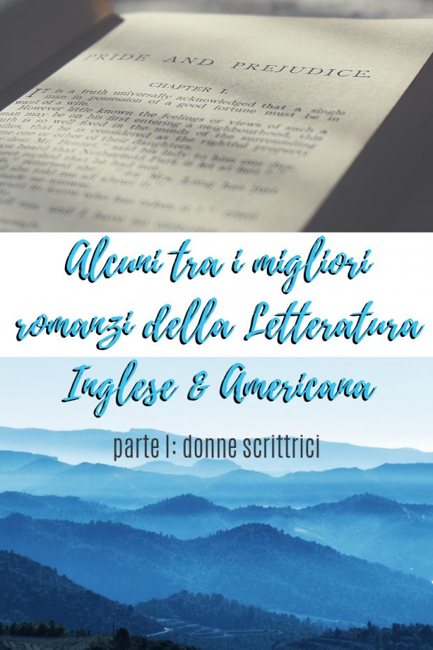 Migliori romanzi letteratura inglese e americana