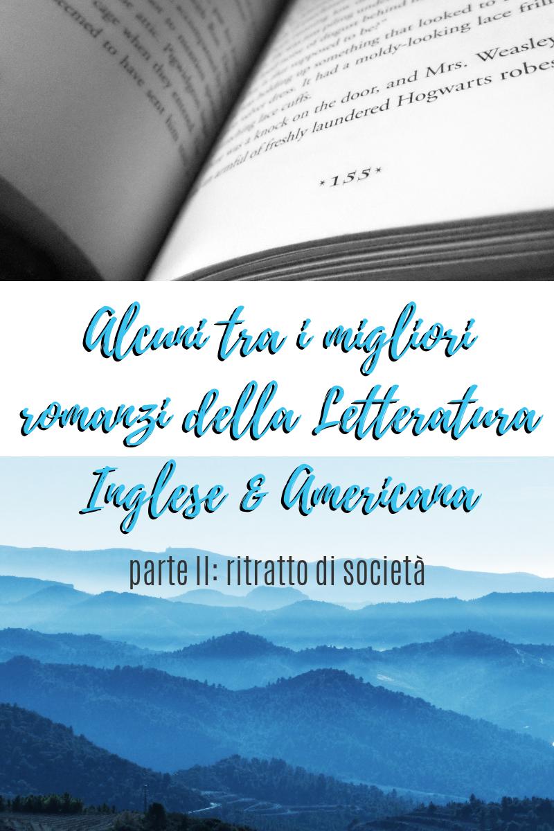 I Migliori Romanzi Della Letteratura Inglese E Americana