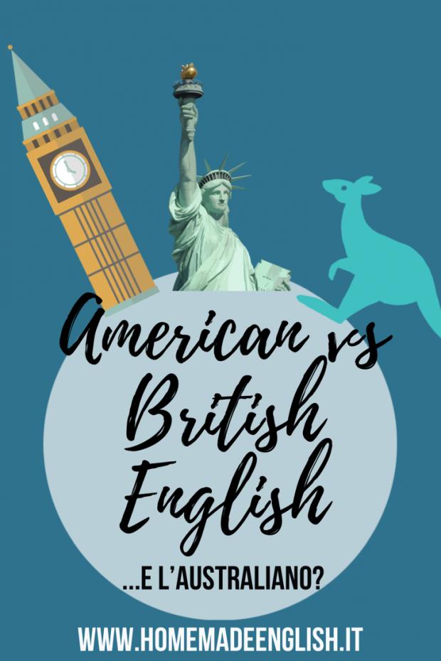 Differenze tra americano e inglese